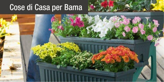 Vasi in verticale: soluzione salvaspazio per l'orto sul balcone