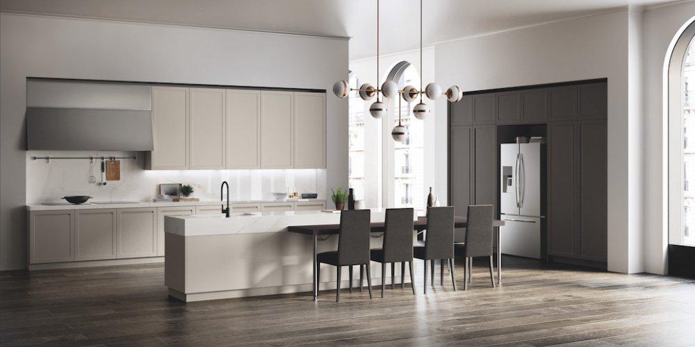 Gres porcellanato per i piani di lavoro delle cucine cose di casa - Marchi cucine moderne ...