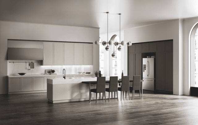 Tavolo Piano Sottile Kronos : Gres porcellanato per i piani di lavoro delle cucine