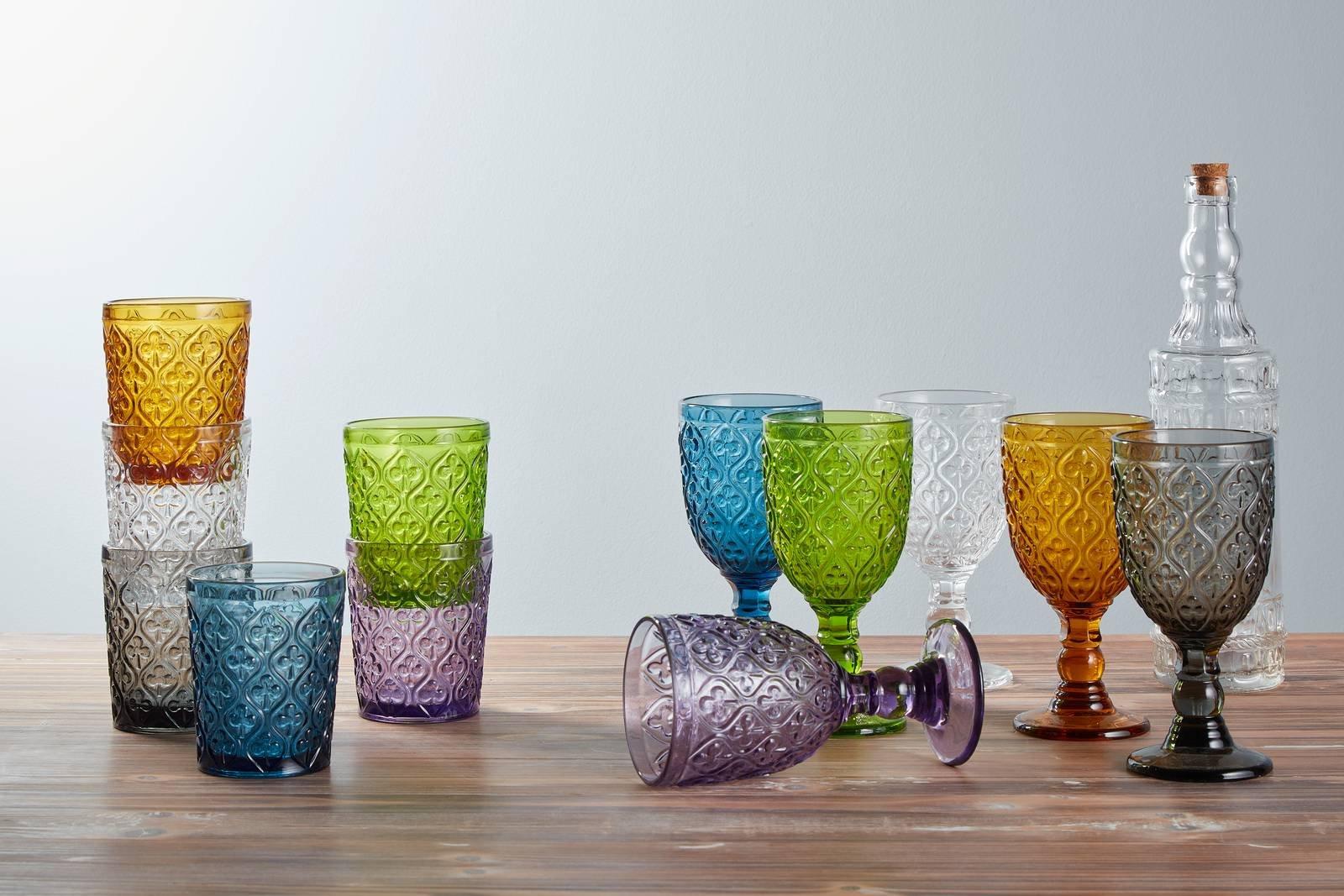 Bicchieri colorati o trasparenti per tutti i tipi di for Bicchieri colorati vetro