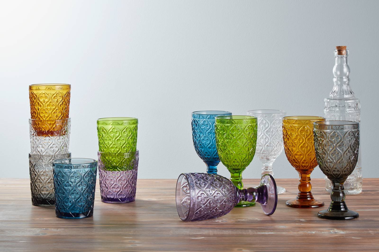 Bicchieri colorati o trasparenti per tutti i tipi di for Bicchieri colorati