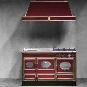 Termocucina combinata con forno a legna ed elettrico di J. Corradi (www.jcorradi.com)