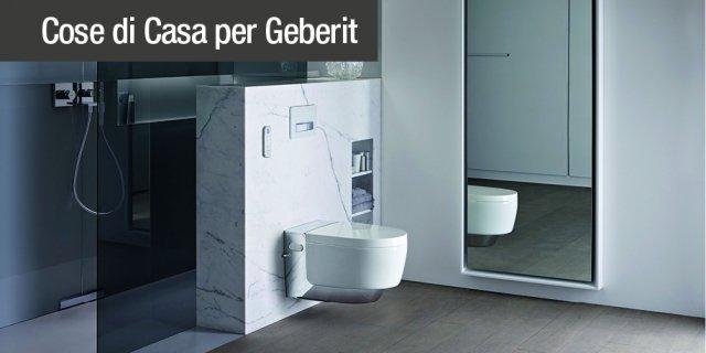 AquaClean Mera, il vaso bidet di design con tecnologia Geberit