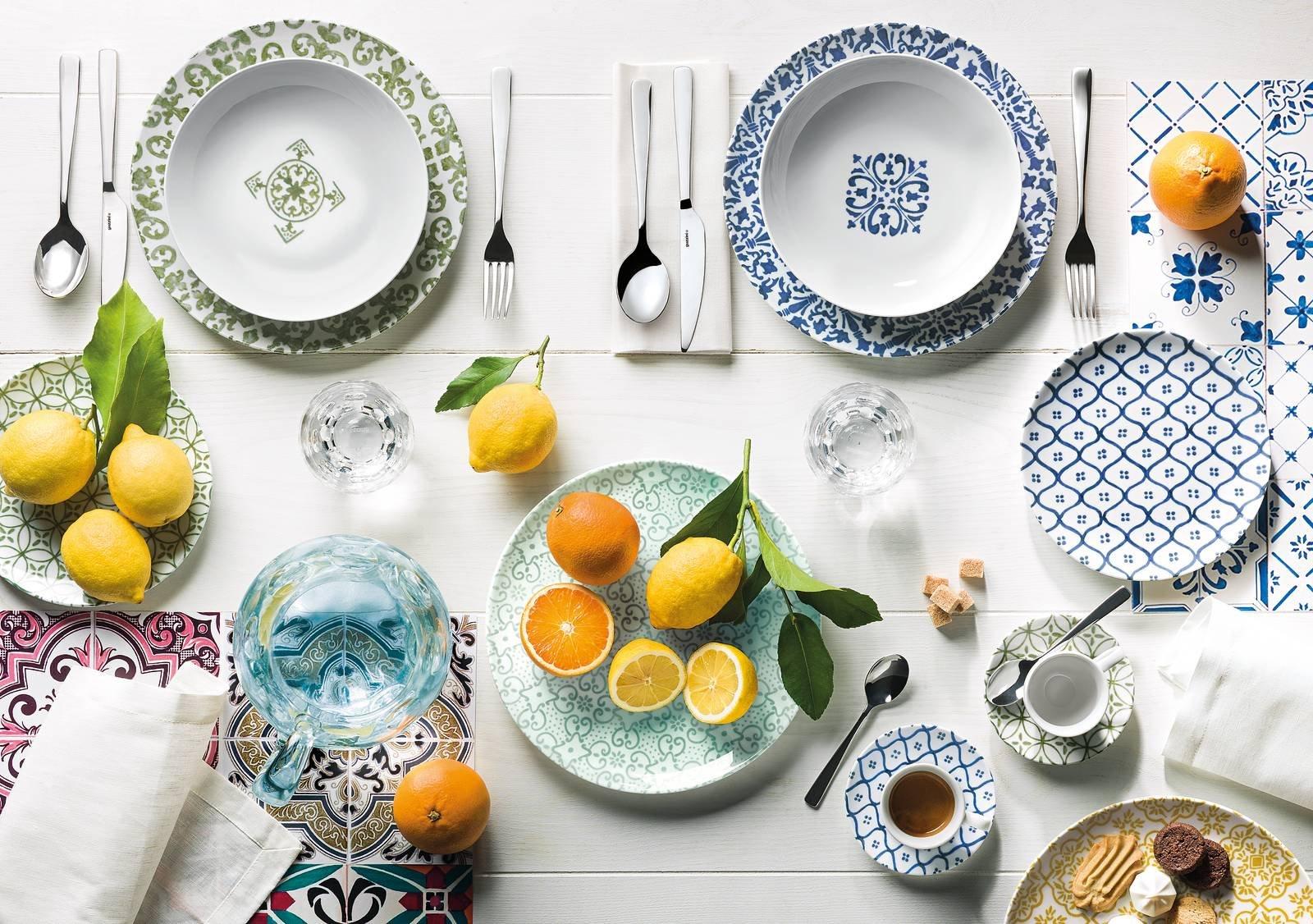 12 servizi di piatti per la tavola di primavera cose di casa