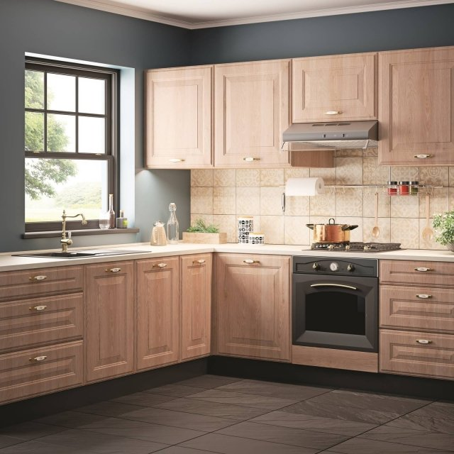 leroy merlin LM_CUCINA NEW CASTLE cucina legno + richiesta e venduta