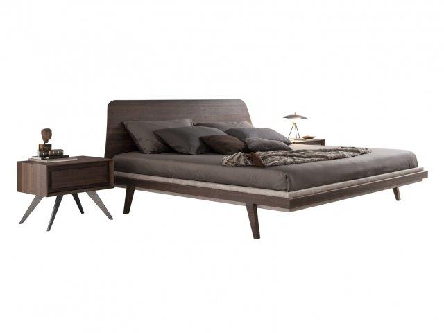 letto in legno1950's di Presotto