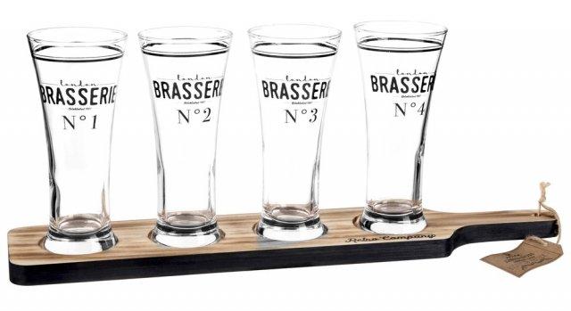 maisons dumonde vassoio-4-bicchieri-da-birra bicchieri