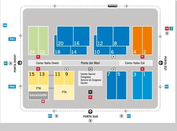 mappa salone del mobile 1