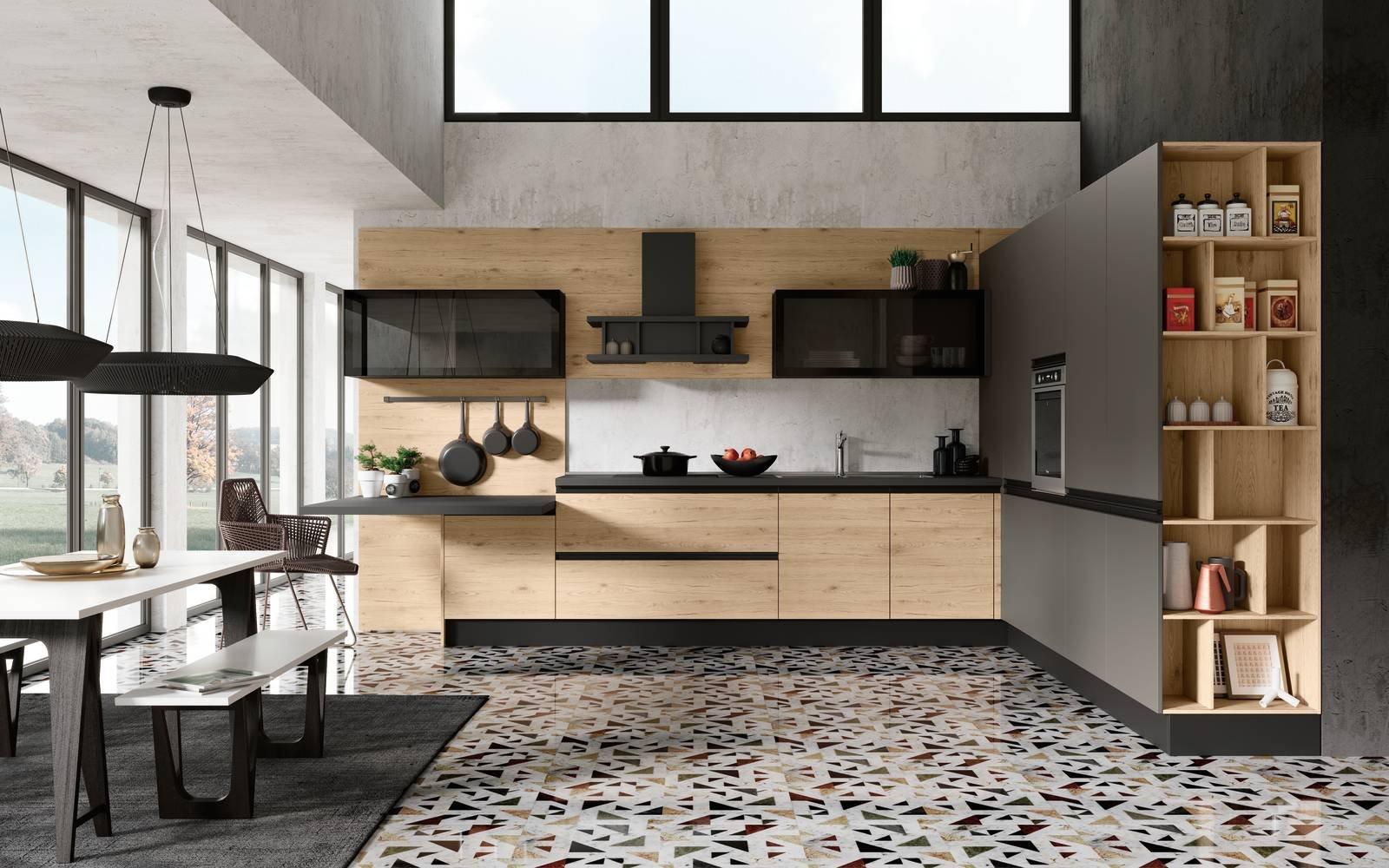 Pulizia Mobili Cucina Legno : Come pulire i mobili della cucina in legno awesome industriale