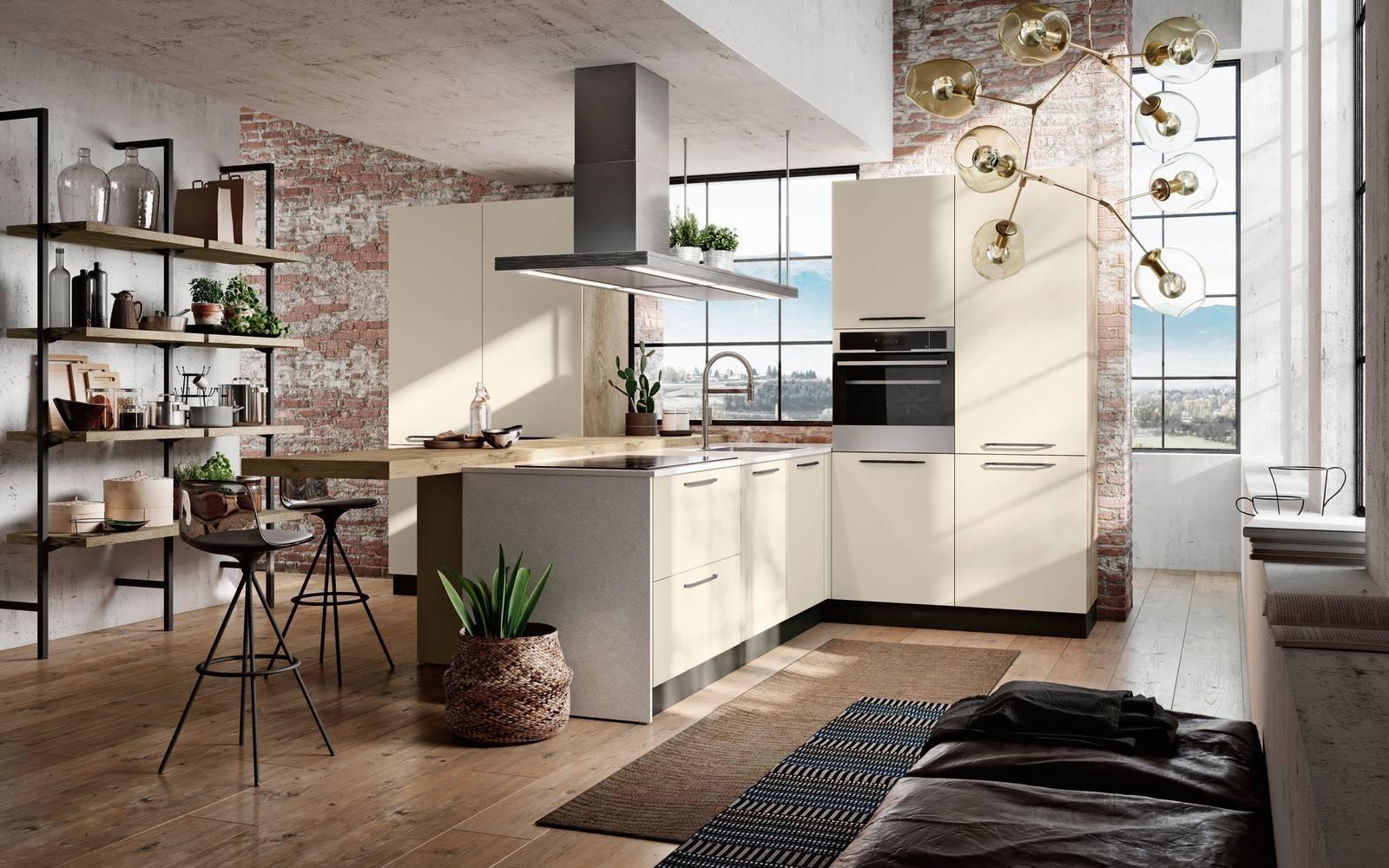 13 cucine con isola e penisola scelta giovane che piace - Cucine ad angolo con penisola ...