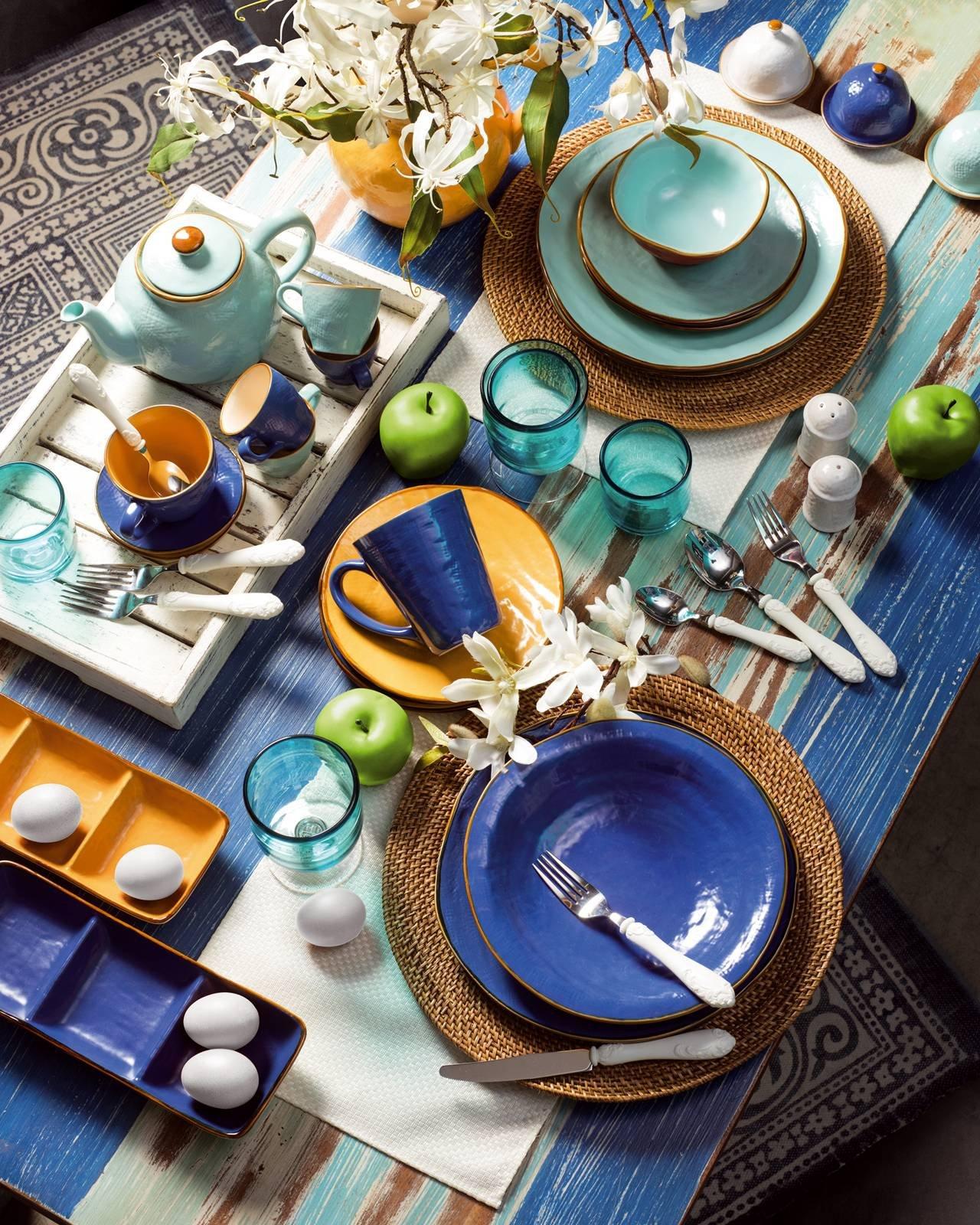 12 servizi di piatti per la tavola di primavera - Cose di Casa
