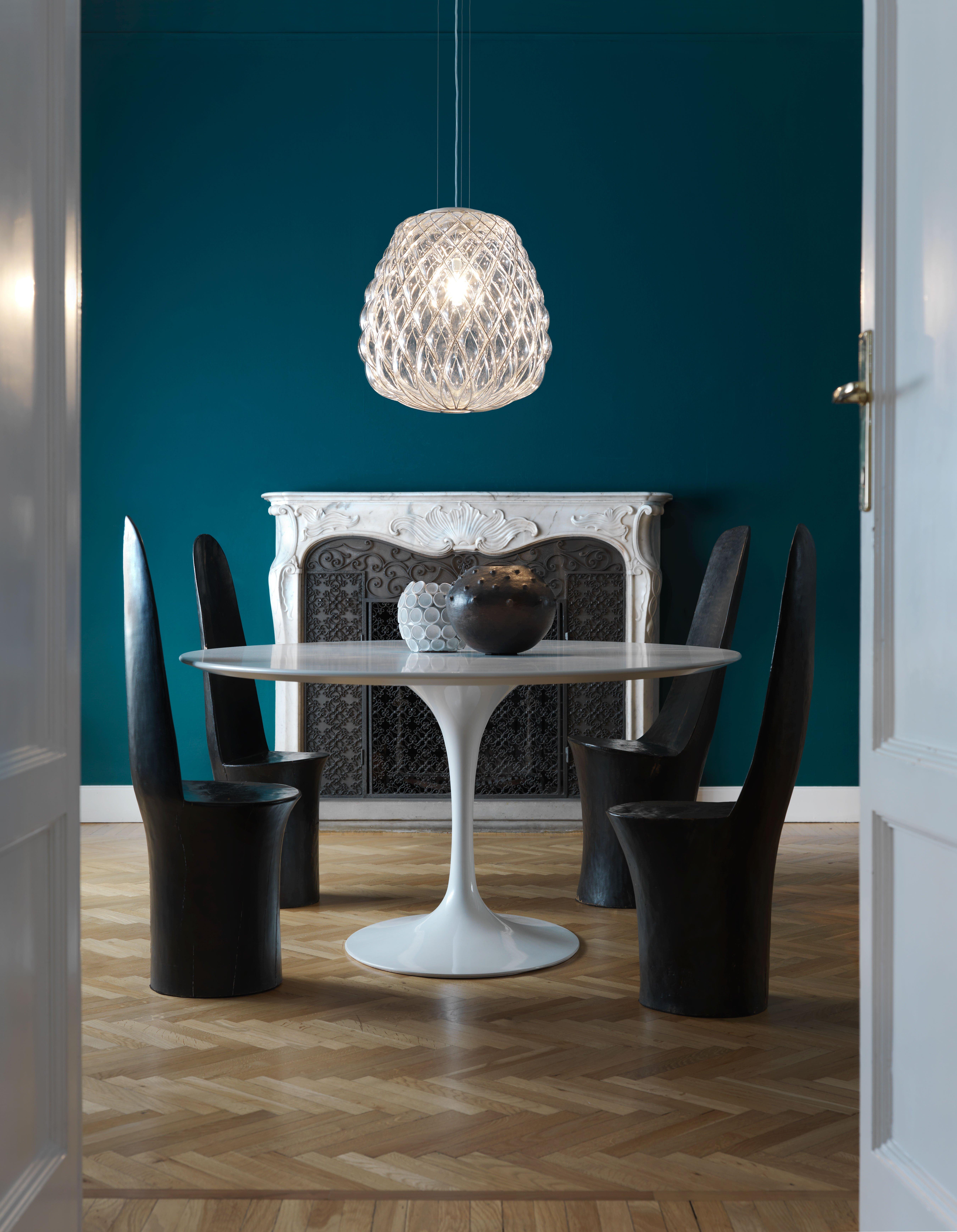 Una parete blu in casa scelta d 39 effetto anche da - Camera da letto azzurra ...