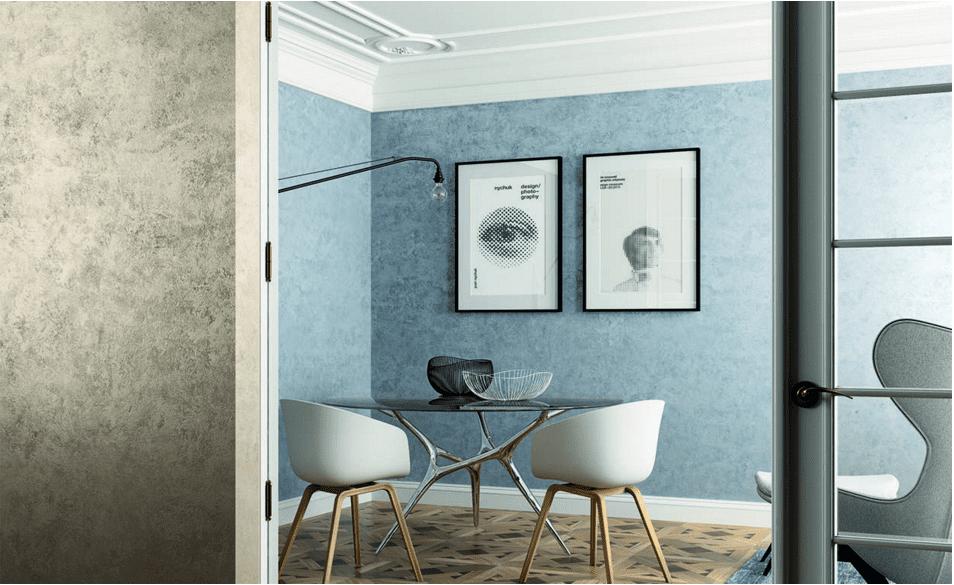 Camera Da Letto Blu Cobalto : Una parete blu in casa: scelta deffetto anche da ottenere con un