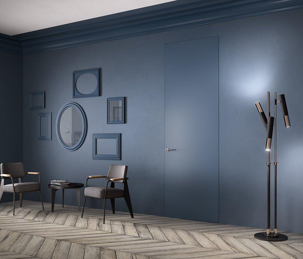 Una parete blu in casa scelta d 39 effetto anche da ottenere con un semplice fai da te cose di casa - Tinta camera da letto ...