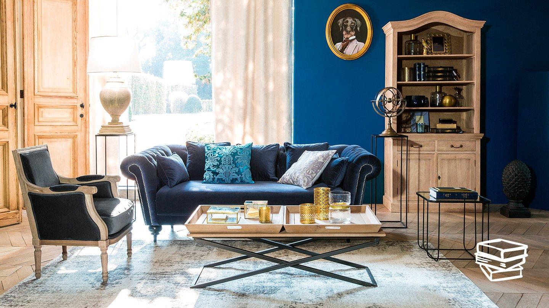 Camera Da Letto Blu Cobalto : Una parete blu in casa scelta d effetto anche da ottenere con un