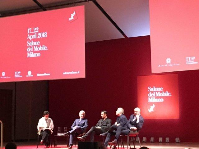 presentazione salone del mobile 2018
