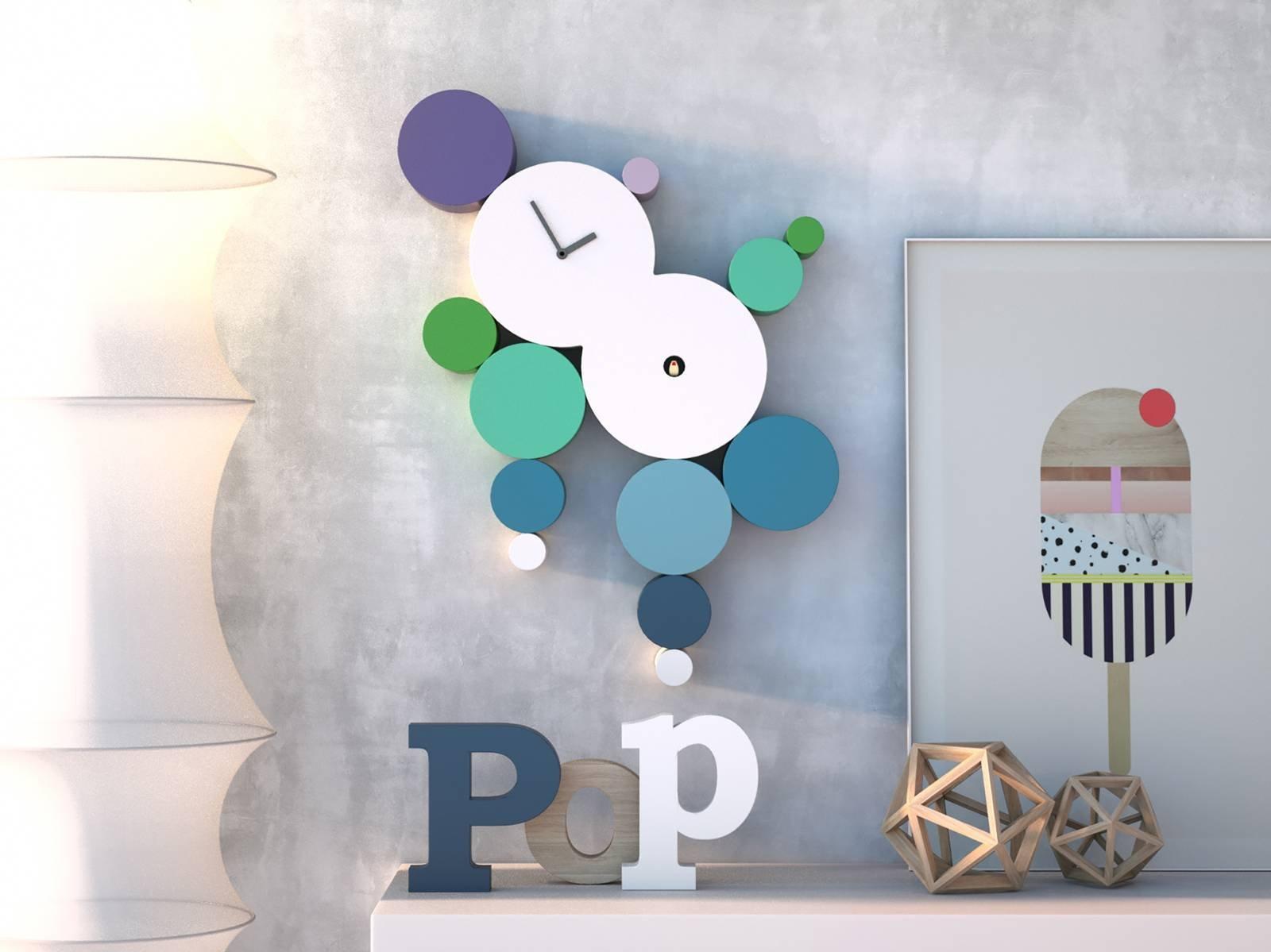 Orologi da parete: coloratissimi o minimali arredano l\'ambiente ...