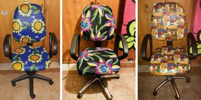 Sedie da ufficio: riciclo creativo per un progetto solidale