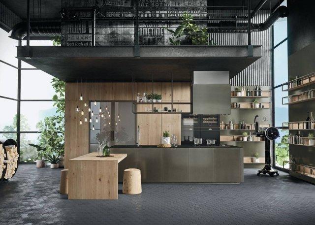 snaidero -Opera-rovere-dry-1 cucina legno + richiesta e venduta
