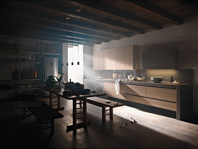 valcucine artematica Olmo tattile_0157 cucina legno + richiesta e venduta