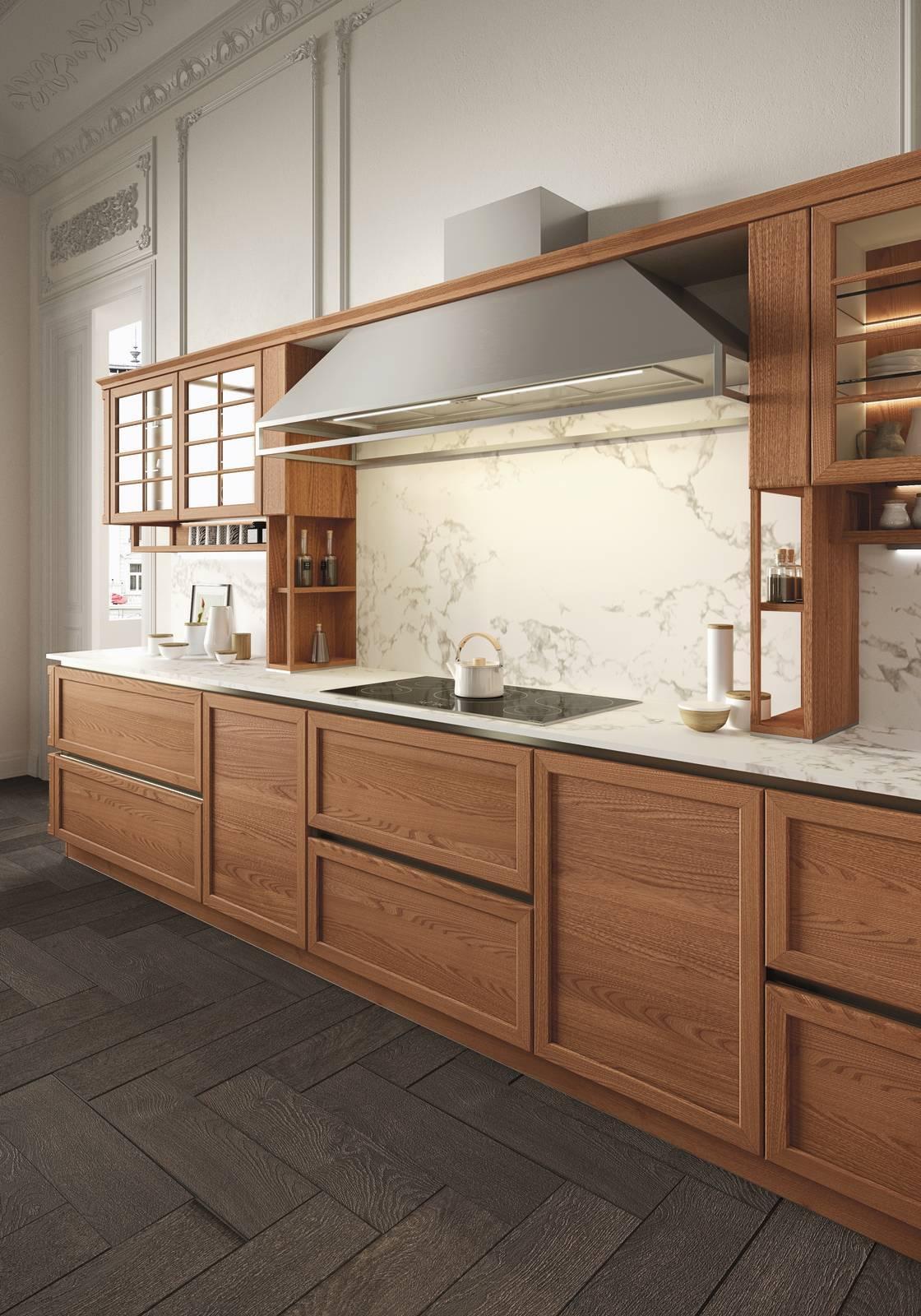 Cucina old style fuori, smart dentro - Cose di Casa