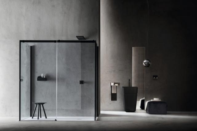 1 arblu otto alublack salone del bagno ambiente doccia
