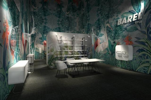 Barel, Salone Internazionale del Mobile – Milano 201817-22 aprilePadiglione 6 – Stand C37