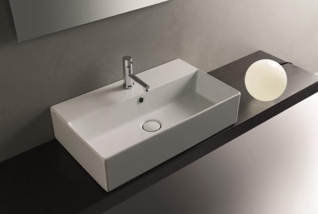 2 globo tedge salone del bagno lavabi