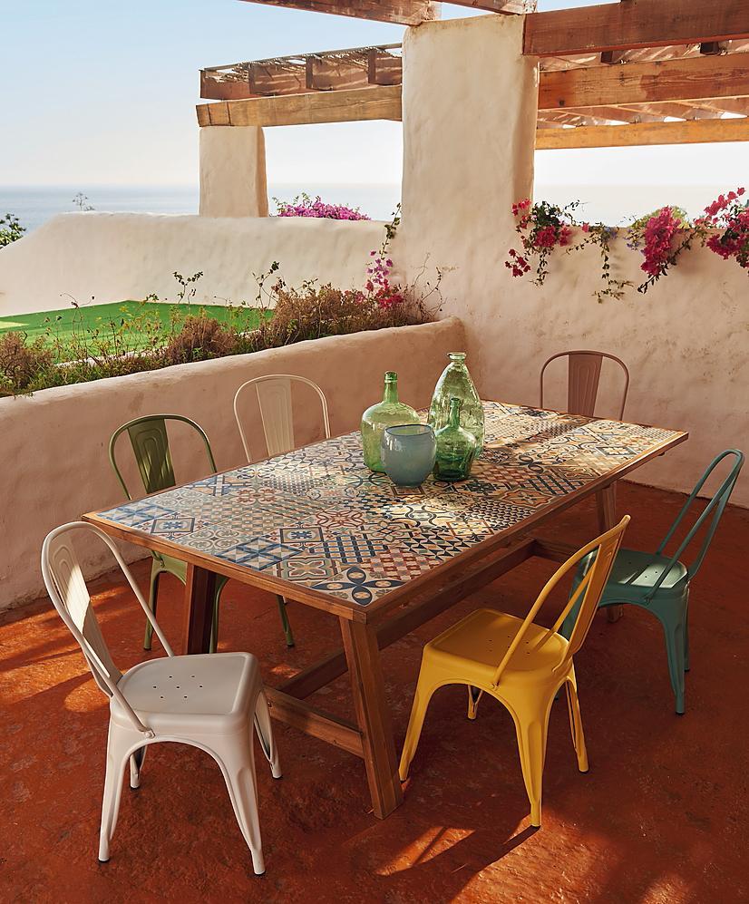 Da leroy merlin tavoli e sedie per esterni per arredare - Leroy decoracion ...