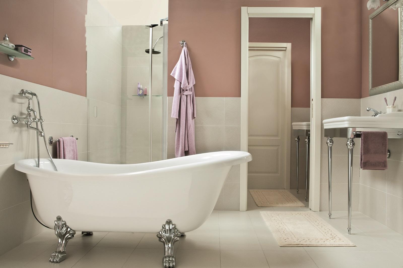 Le vasche da bagno non sono realizzate soltanto in acrilico - Vasche da bagno leroy merlin ...