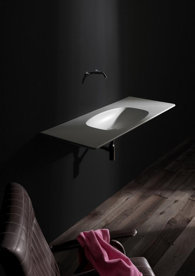 4 flaminia nudaflat salone del bagno lavabi