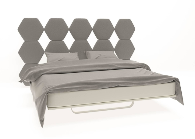 Barel, Letto Cristallo, design Simone Micheli