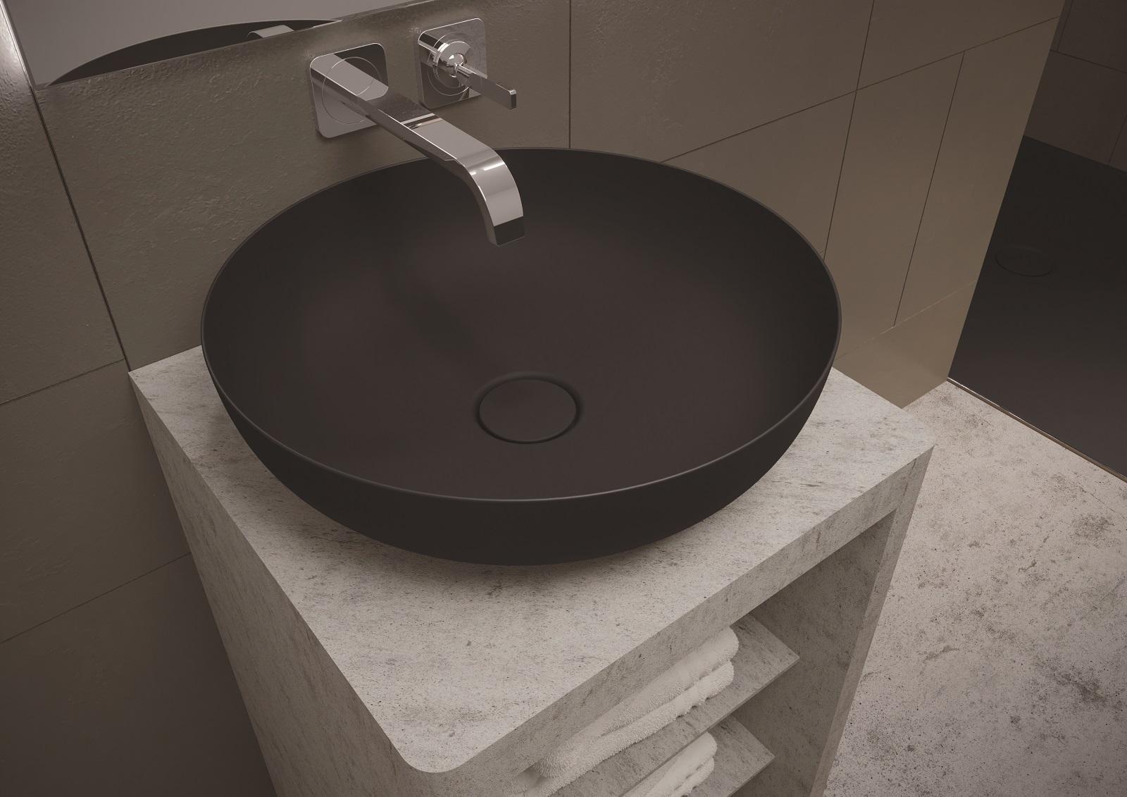 Lavabo bagno incasso sottopiano lavabo da appoggio in pietra