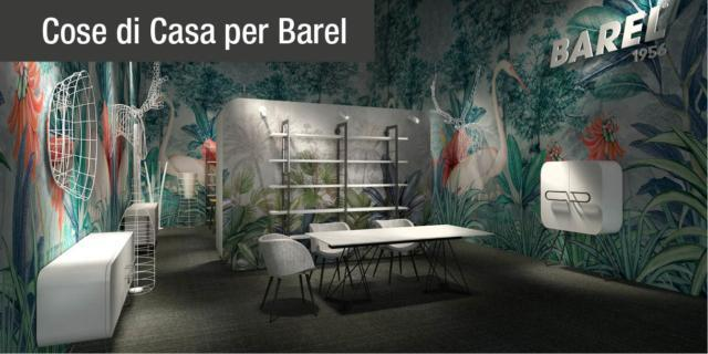 Design originale e cura artigianale: le novità di Barel al Salone del Mobile 2018