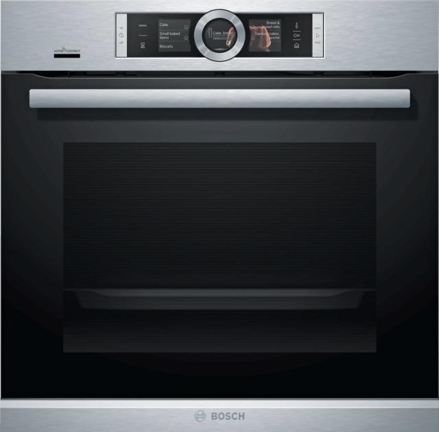 ● Con tecnologia Home Connect per il controllo a distanza, HRG6769S6 di Bosch (www.bosch-home.com/it) prevede anche la funzione vapore. In classe A, ha capacità di 71 litri. Prezzo da rivenditore.