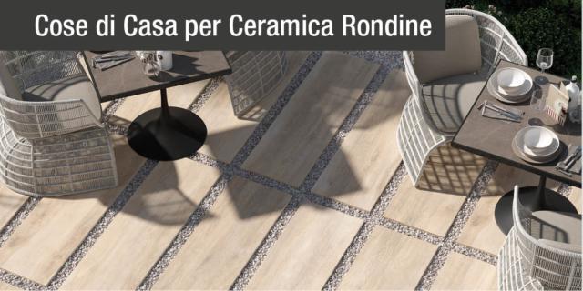 Outdoor di spessore: il gres porcellanato effetto legno di Ceramica Rondine