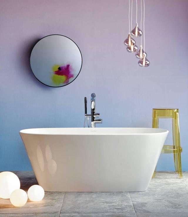 Rinnovare il bagno con il colore per un ambiente raffinato e chic cose di casa - Rinnovare vasca da bagno ...