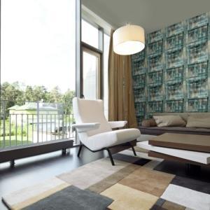 la collezione Design Lux è in tessuto non tessuto; i rolli sono di m. 0,70 x 10 h.
