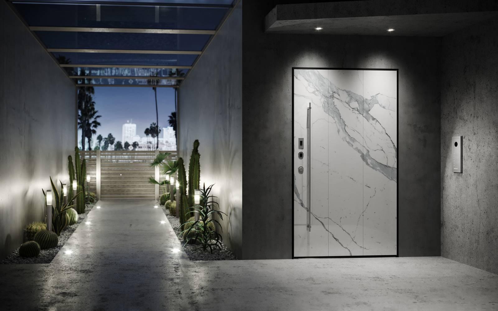 Di.Big - La porta blindata a bilico con apertura elettronica - Cose ...