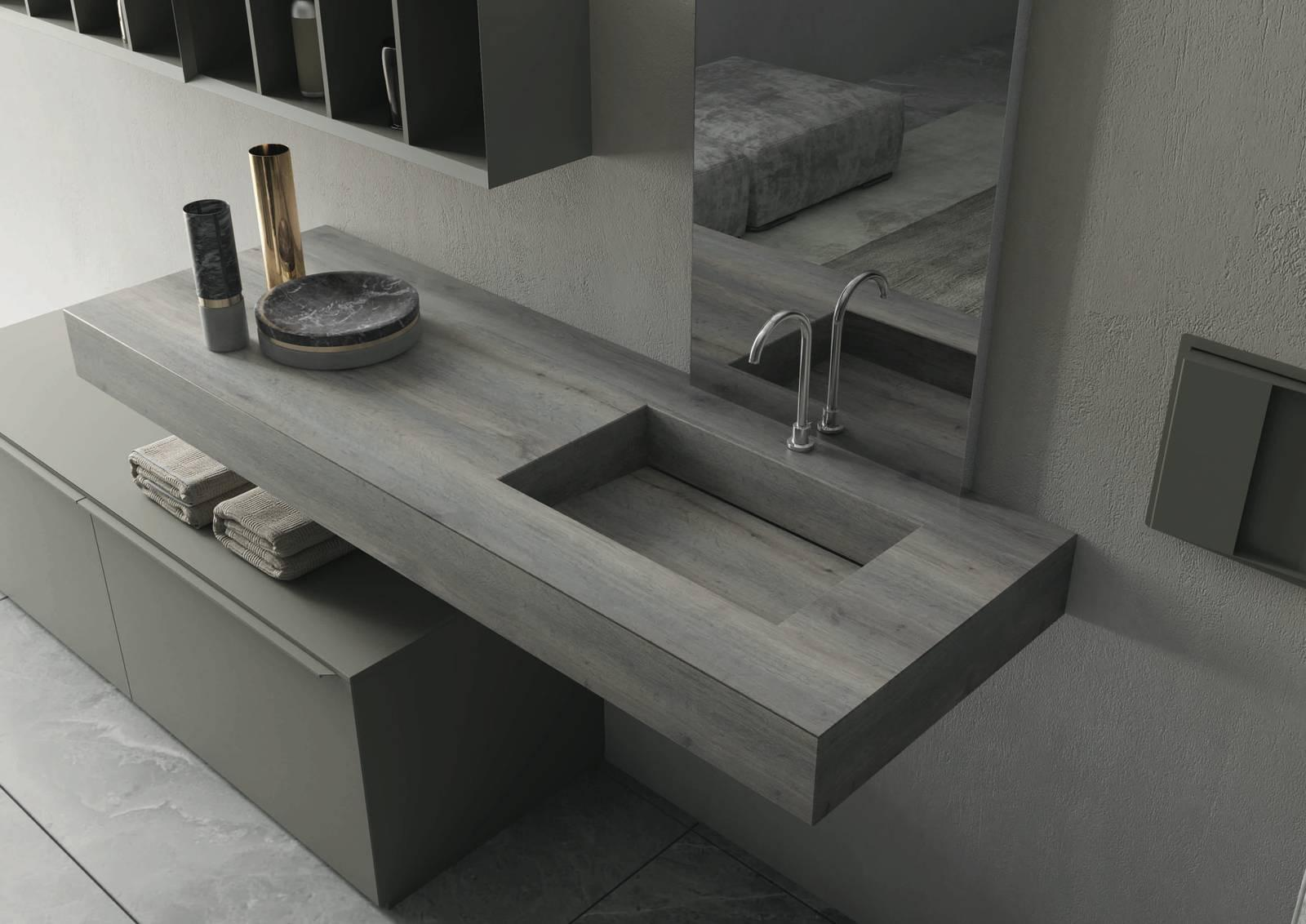 Creare il proprio spazio: Inda presenta i nuovi mobili bagno 2018 ...