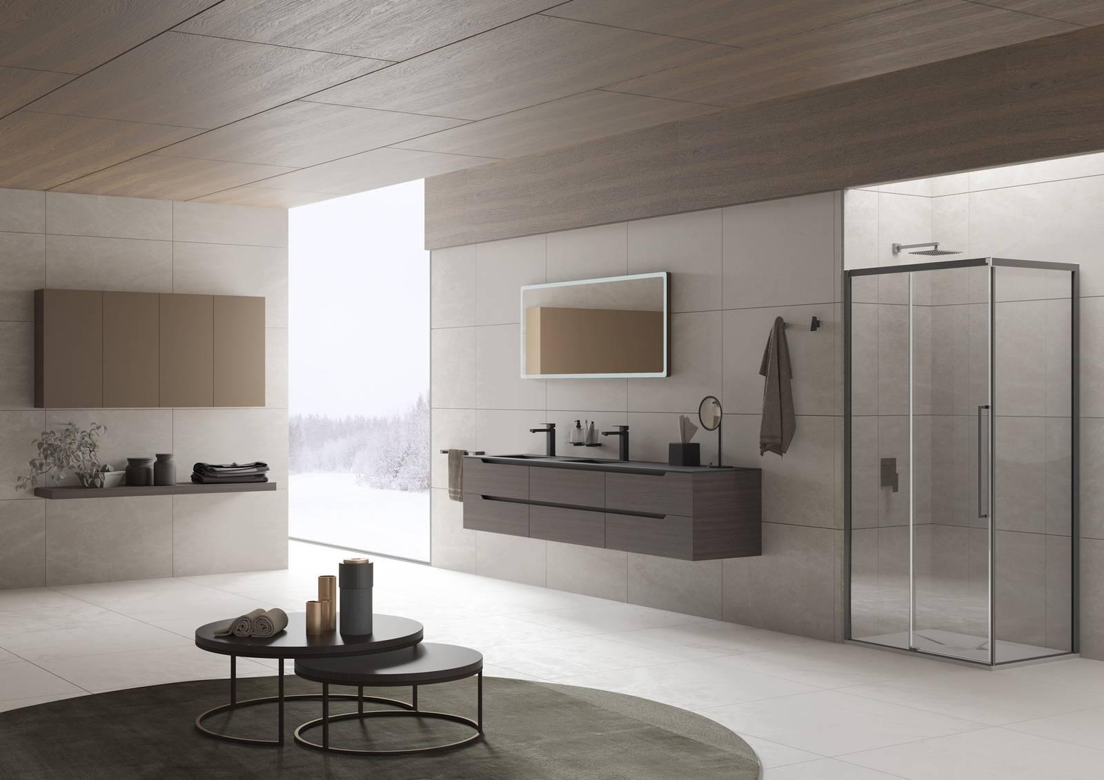 Creare il proprio spazio inda presenta i nuovi mobili bagno 2018 cose di casa - Arredo bagno inda ...