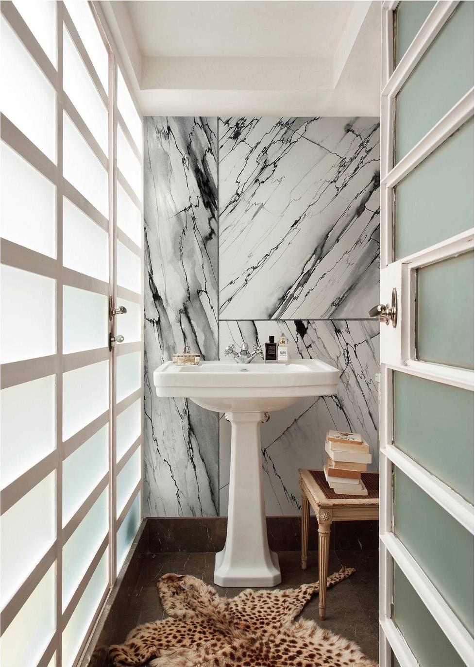 Bagno di tendenza ambienti da copiare cose di casa for H rivestimento bagno