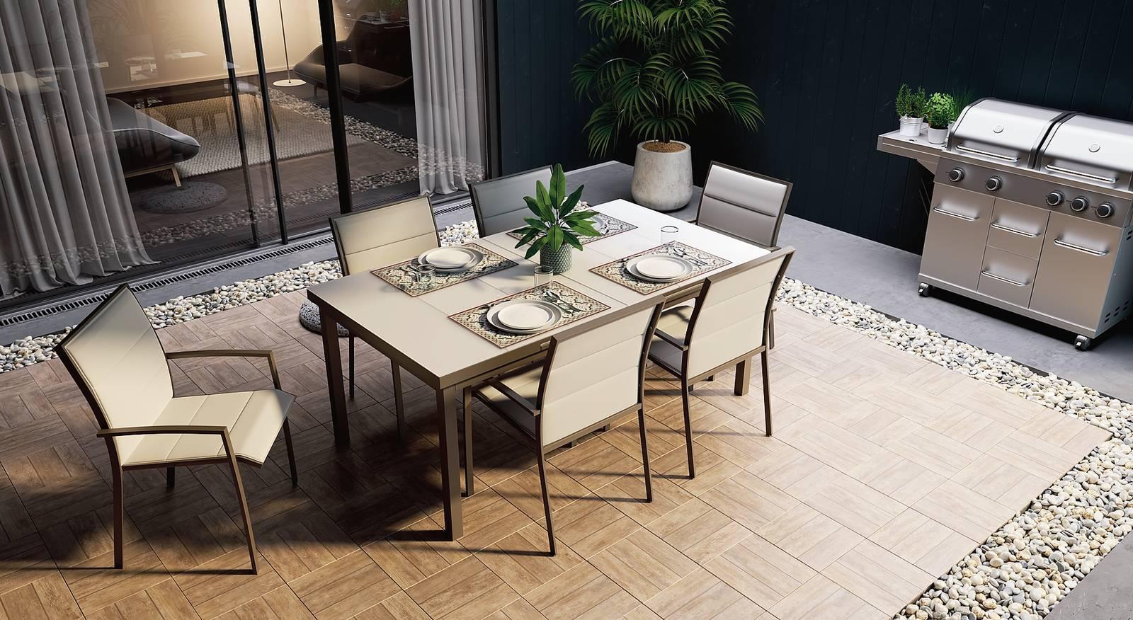 Tavoli Da Giardino Risparmio Casa : Da leroy merlin tavoli e sedie per esterni per arredare balconi e