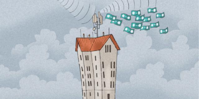 Ripetitori per cellulari sul condominio