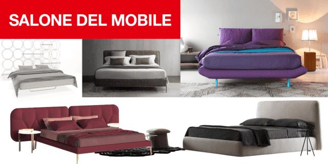 Accoglienti e morbidi: i letti tessili al Salone del Mobile