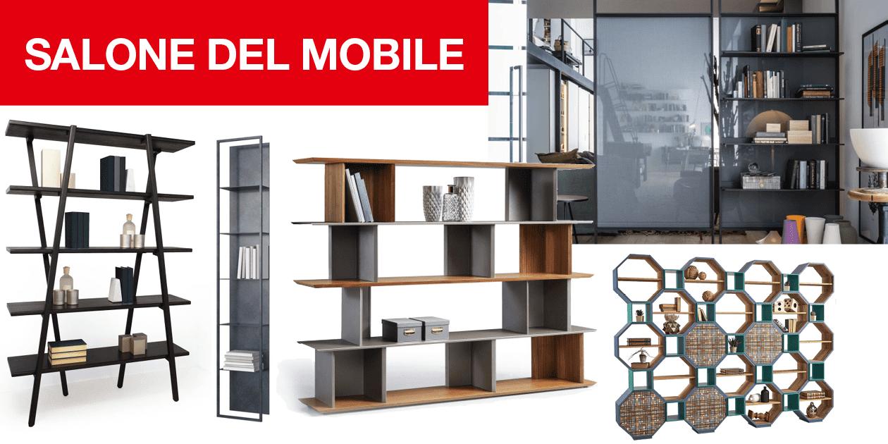 Librerie e mobili per contenere a isaloni 2018 tra nuove for Arredamento per librerie