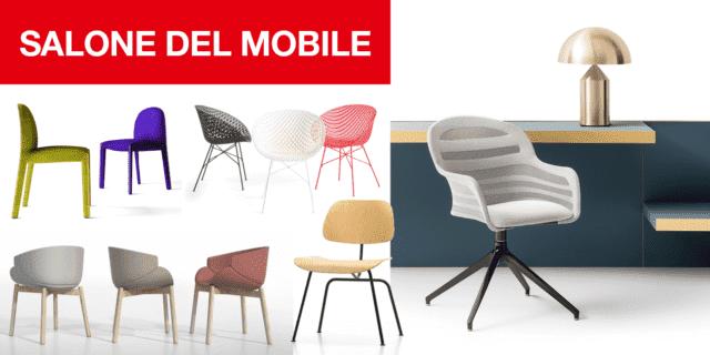 Sedie & design: in Fiera a Milano il nuovo si ispira al passato puntando su materiali e finiture nuove