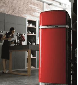 Frigorifero a due porte a libera installazione Iconic Fridge di Kitchen Aid (www.kitchenaid.it)