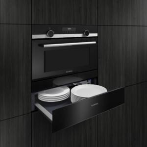 Forno multifunzione da incasso iQ300 di Siemens con 30 programmi di cottura automatici. Con cassetto integrato sotto il vano (www.siemens-home.bsh-group.com/it)