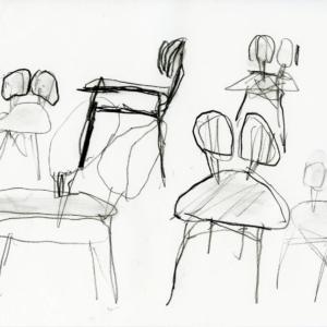 Progetto di Michele De Lucchi per la sedia Filla di Very Wood